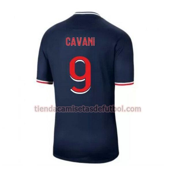 camiseta cavani 9 paris saint germain primera 2020-2021 hombre
