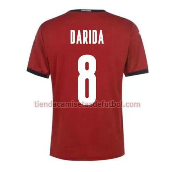 camiseta darida 8 republica checa primera 2020 hombre