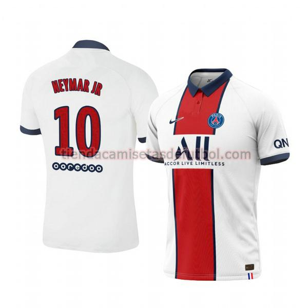 camiseta neymar jr 10 paris saint germain segunda 2020-2021 hombre