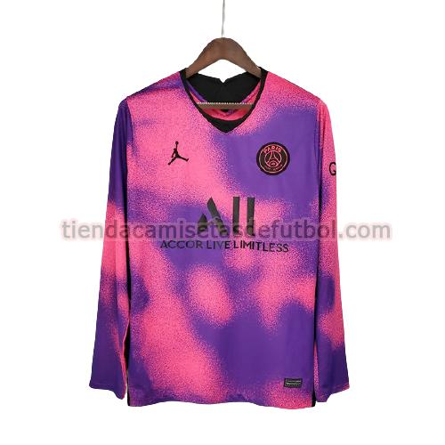 camiseta paris saint germain fourth 2021 ml hombre púrpura
