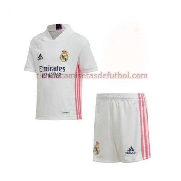camiseta real madrid primera 2020-2021 niño