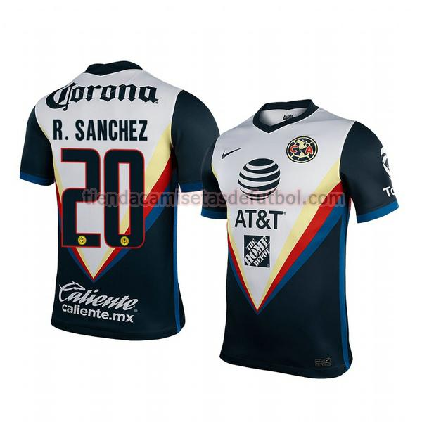 camiseta richard sanchez 20 club américa segunda 2020-2021 hombre