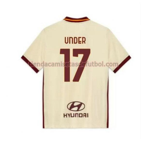 camiseta under 17 as roma segunda 2020-2021 hombre
