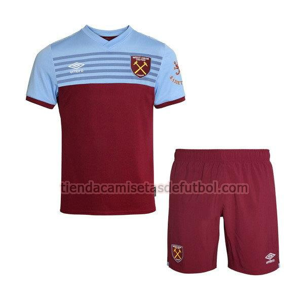 camiseta west ham united primera 2019-2020 niños