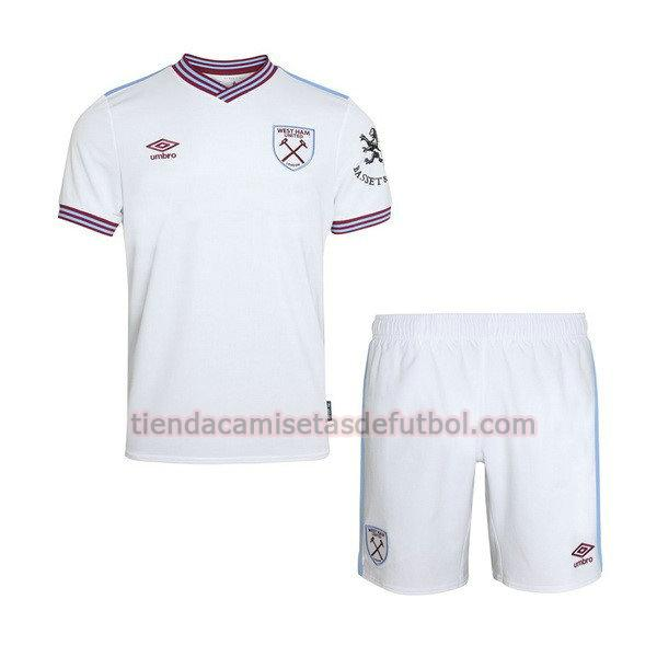 camiseta west ham united segunda 2019-2020 niños