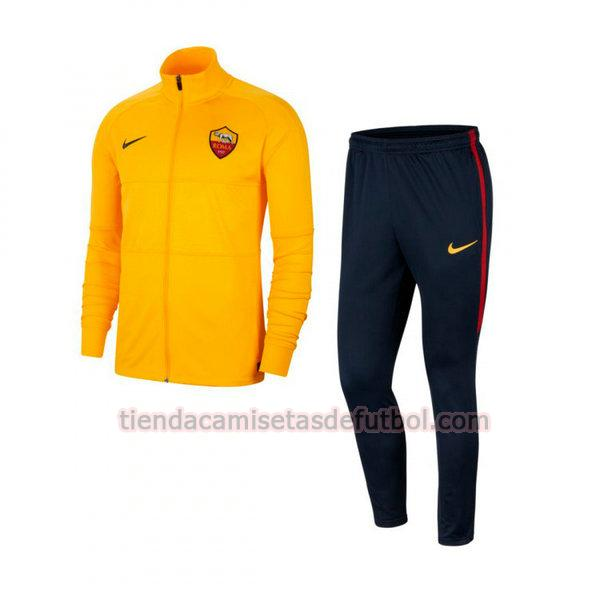 chandal as roma 2020-2021 hombre amarillo