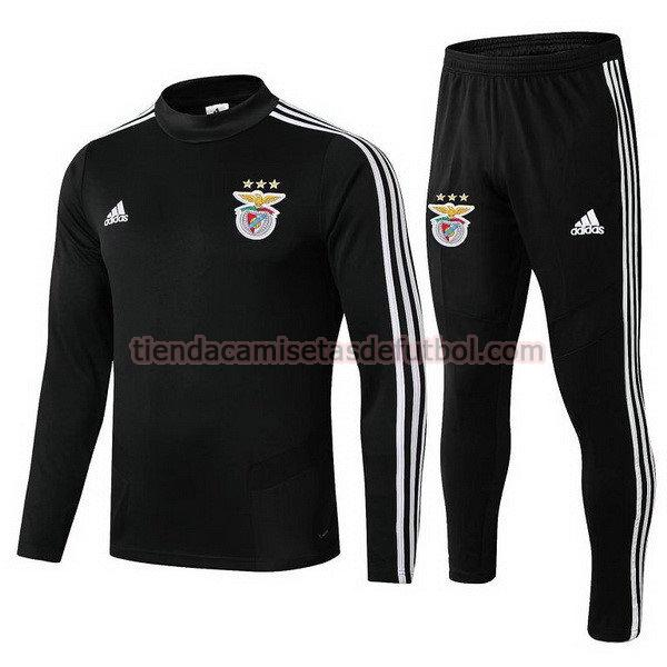 chandal benfica 2019-2020 hombre negro
