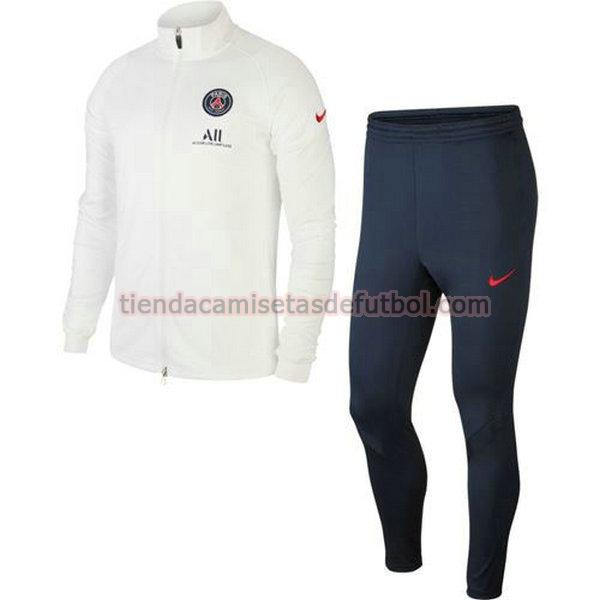 chandal paris saint germain 2020-2021 conjunto hombre amarilla