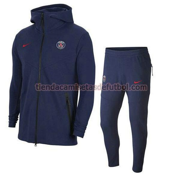 chandal paris saint germain 2020-2021 conjunto hombre blanco
